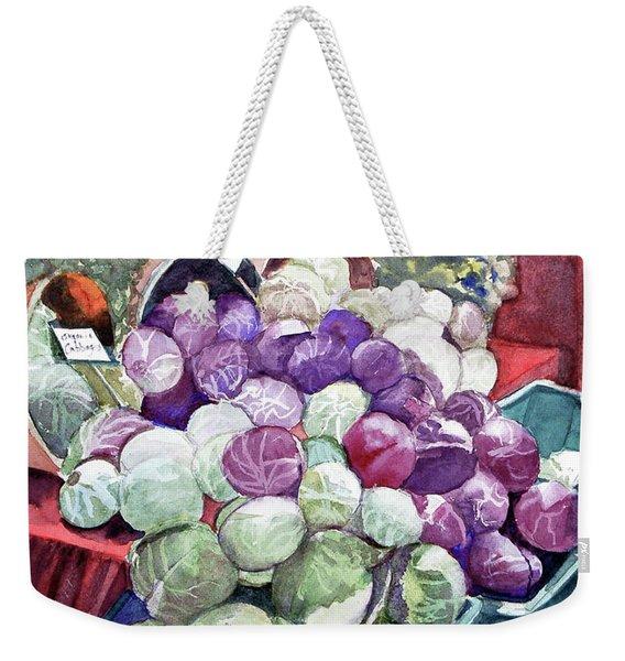 Cabbage Patch Weekender Tote Bag
