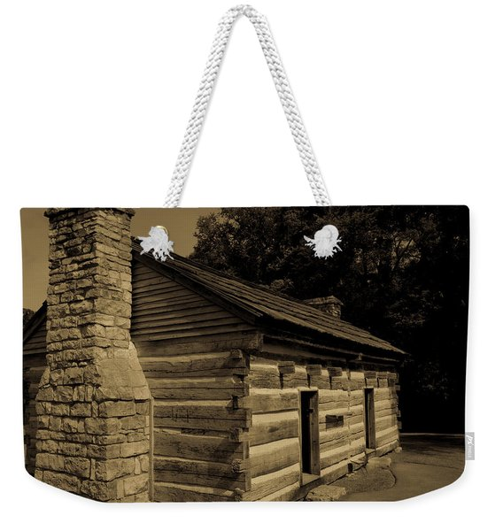 Cabin At The Hermitage Weekender Tote Bag