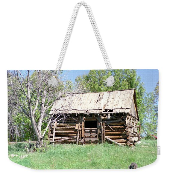 Cabin In The Mountains Weekender Tote Bag