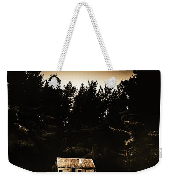 Cabin In The Woodlands  Weekender Tote Bag