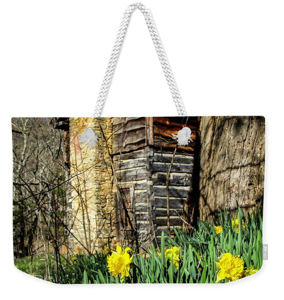 Cabin Spring Weekender Tote Bag