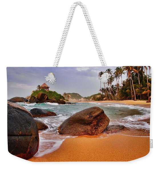 Weekender Tote Bag featuring the photograph Cabo San Juan by Skip Hunt