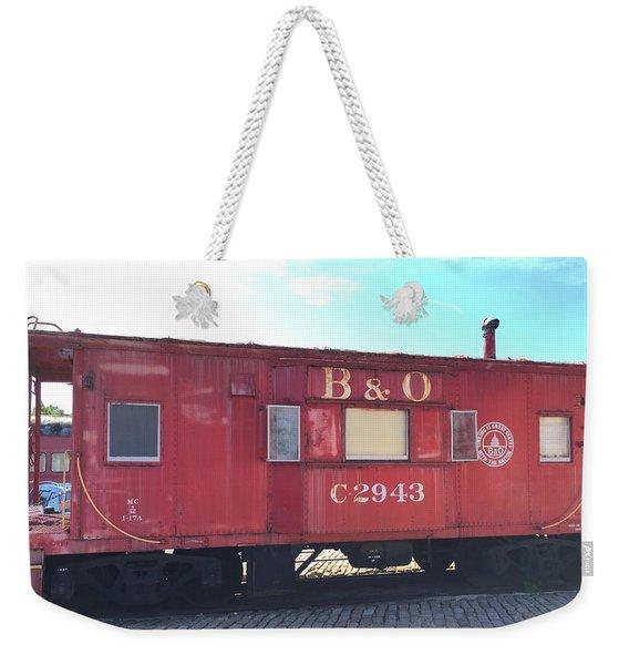 Caboose Weekender Tote Bag