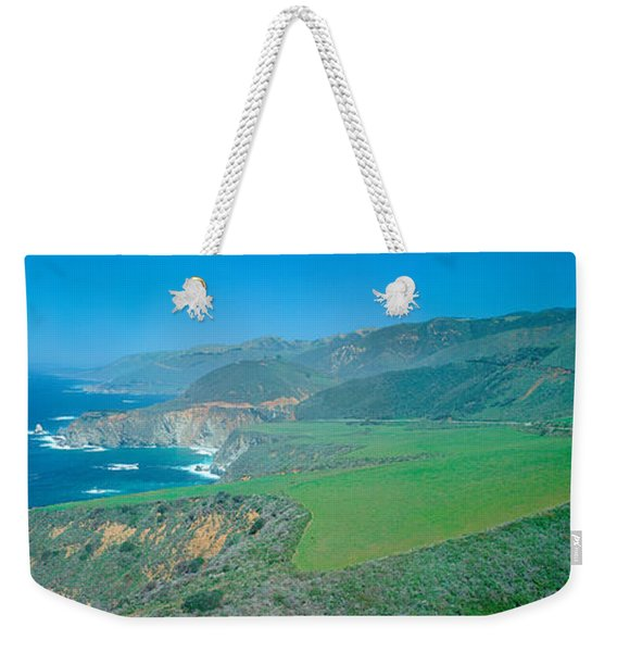 Cabrillo Highway On The California Weekender Tote Bag