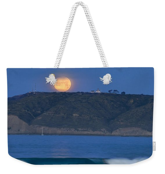 Cabrillo Moon Weekender Tote Bag