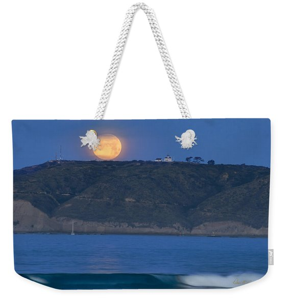 Cabrillo Moon Weekender Tote Bag