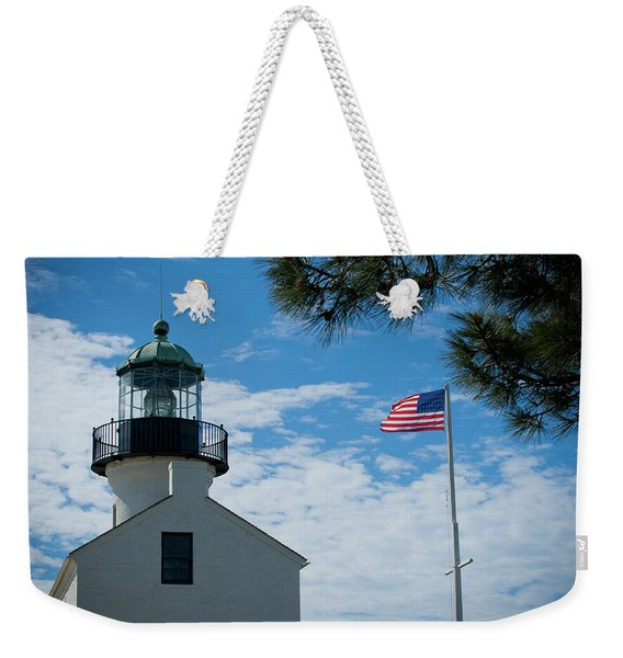 Cabrillo National Monument Close Up Weekender Tote Bag