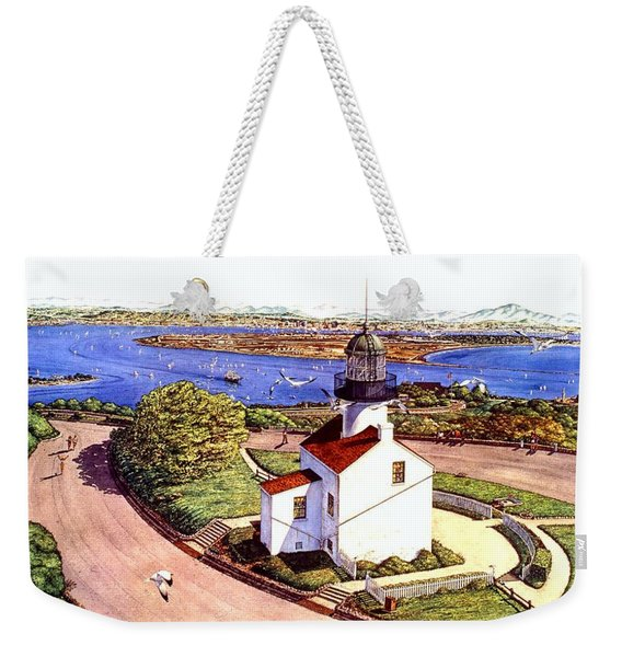 Cabrillo Old Pt. Loma Lighthtouse, San Diego Weekender Tote Bag