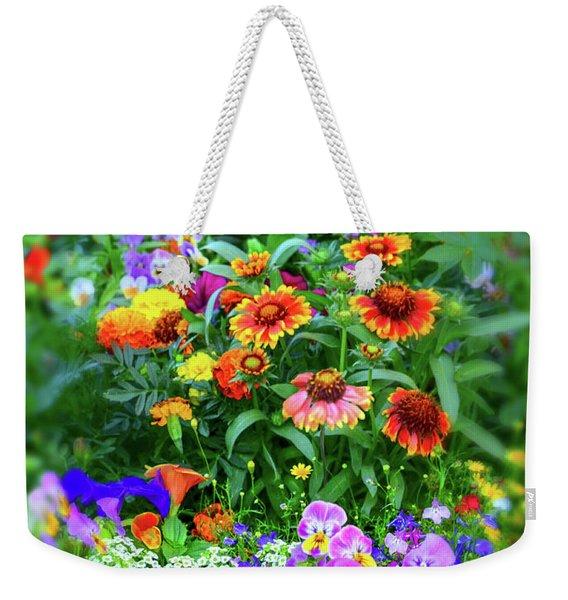 Summer Symphony Of Color Weekender Tote Bag