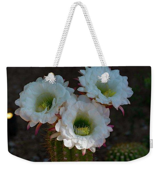 Cactus Flowers Weekender Tote Bag