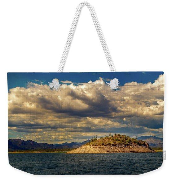 Cactus Island Weekender Tote Bag