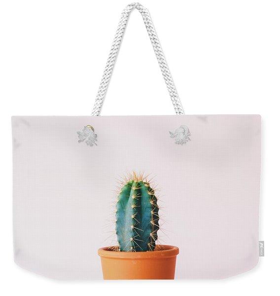 Cactus Pot Weekender Tote Bag