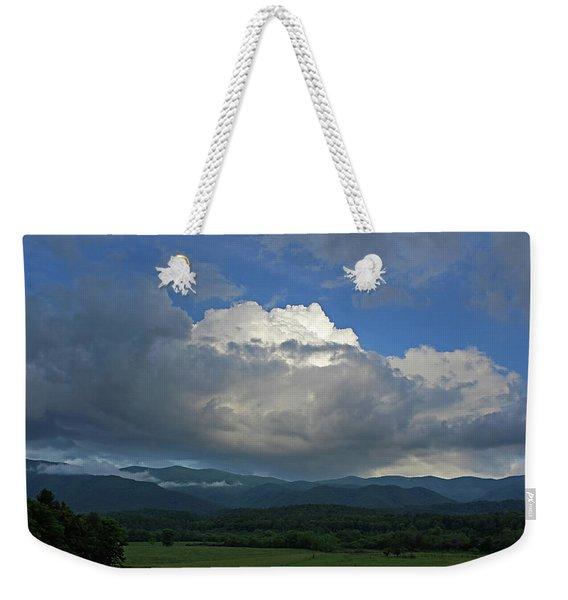 Cades Cloud Weekender Tote Bag