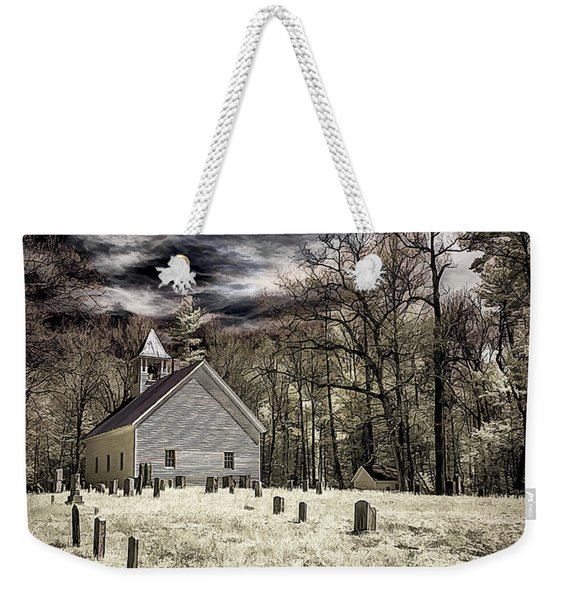 Cades Cove Church Weekender Tote Bag