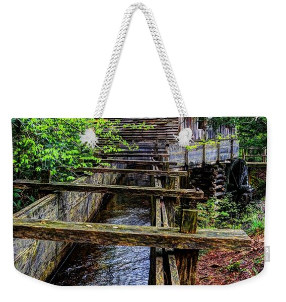 Cades Cove Grist Mill In The Great Smoky Mountains National Park  Weekender Tote Bag