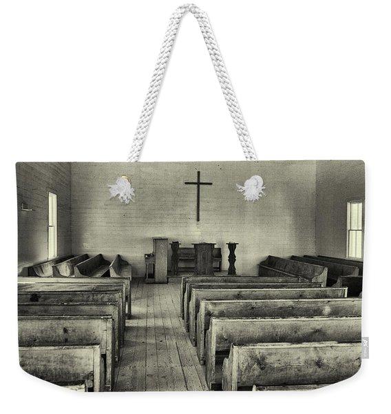 Cades Cove Methodist Church Weekender Tote Bag