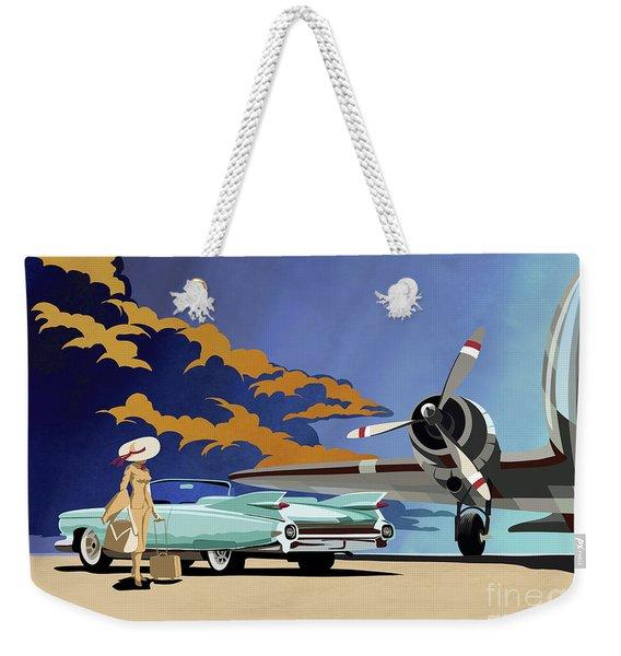 Cadillac Eldorado 1959 Weekender Tote Bag