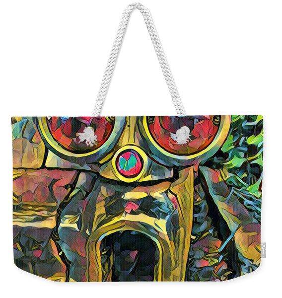 Cadillacasauraus Weekender Tote Bag