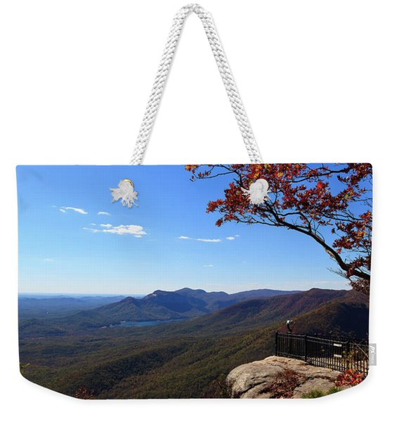 Caesars Head State Park In Upstate South Carolina Weekender Tote Bag