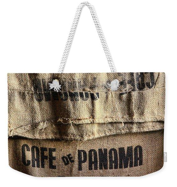 Cafe De Panama Weekender Tote Bag