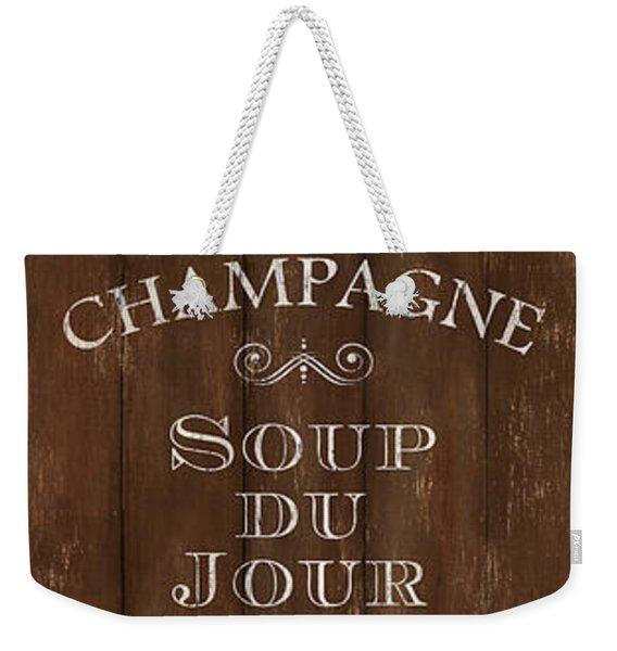 Cafe De Paris 2 Weekender Tote Bag
