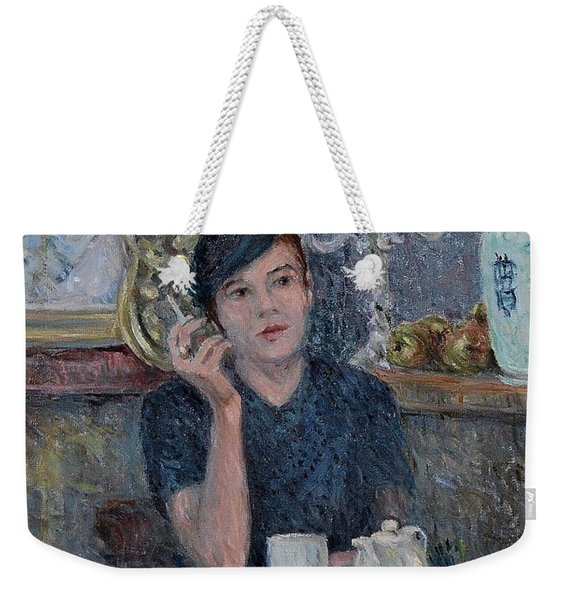 Cafe De Paris  Weekender Tote Bag
