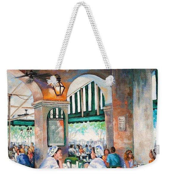 Cafe Girls Weekender Tote Bag