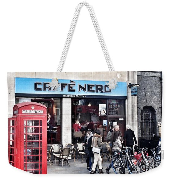 Cafe Nero  Weekender Tote Bag