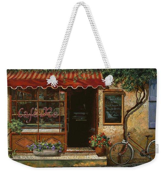 caffe Re Weekender Tote Bag