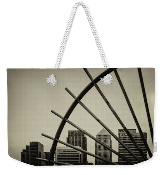 Caged Canary Weekender Tote Bag