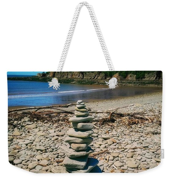 Cairn In Eastern Canada Weekender Tote Bag
