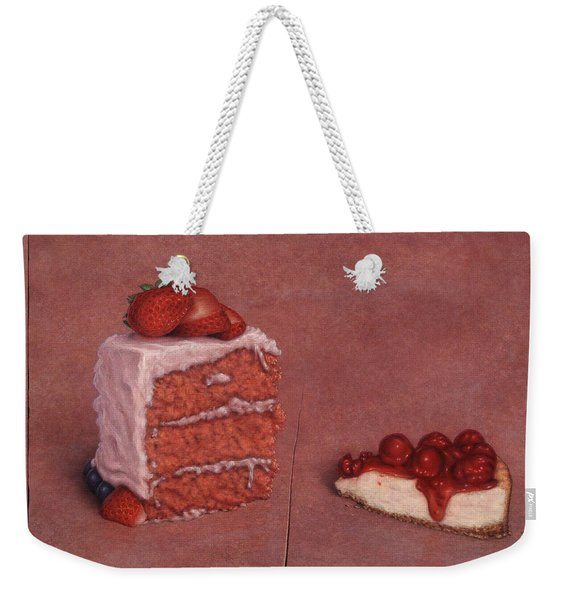 Cakefrontation Weekender Tote Bag