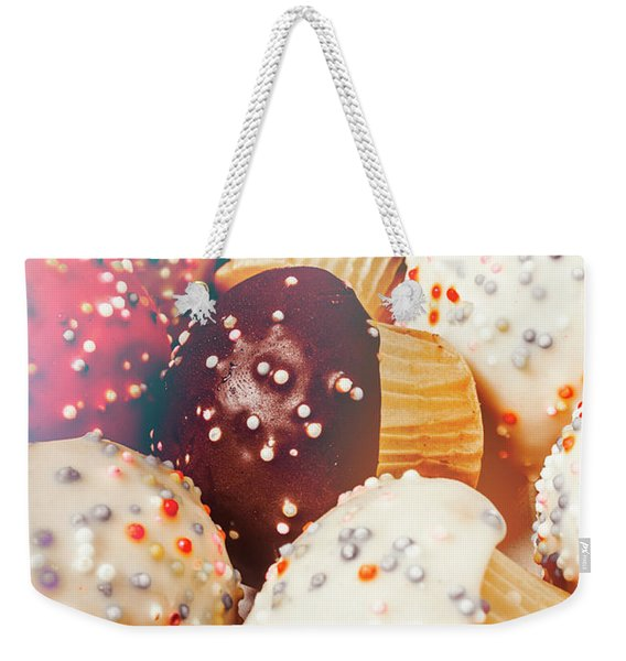Cakes Of Confection Weekender Tote Bag