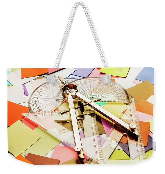 Calculating Infinity Weekender Tote Bag