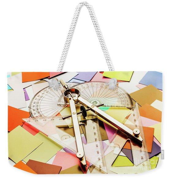 Calculating Infinity Weekender Tote Bag