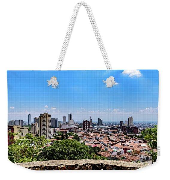 Cali Skyline Weekender Tote Bag