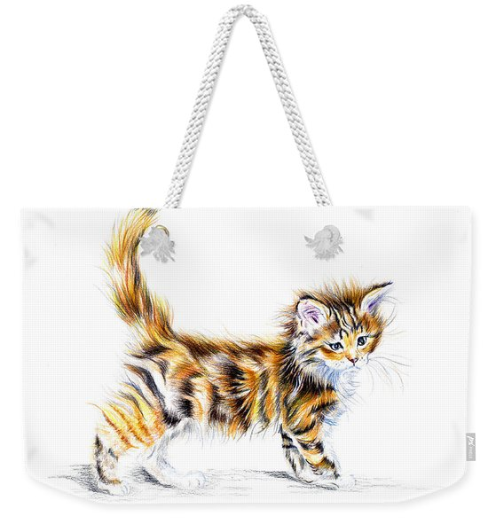 Calico Kitten Weekender Tote Bag