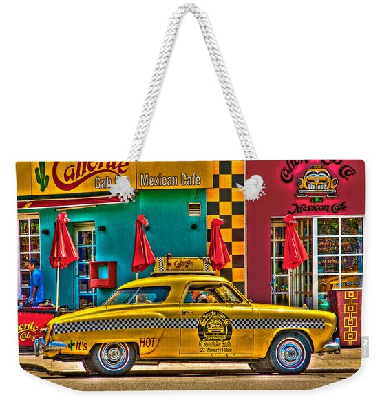 Caliente Cab Co Weekender Tote Bag