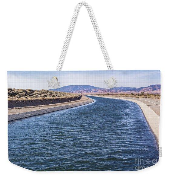 California Aqueduct S Curves Weekender Tote Bag