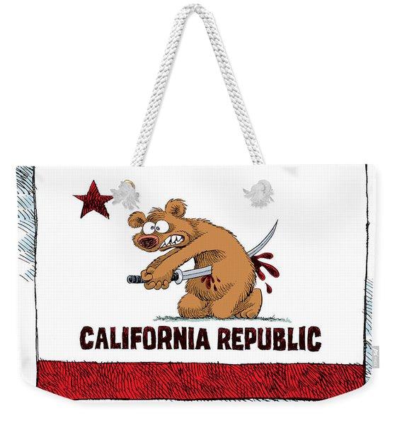 California Budget Harakiri Weekender Tote Bag