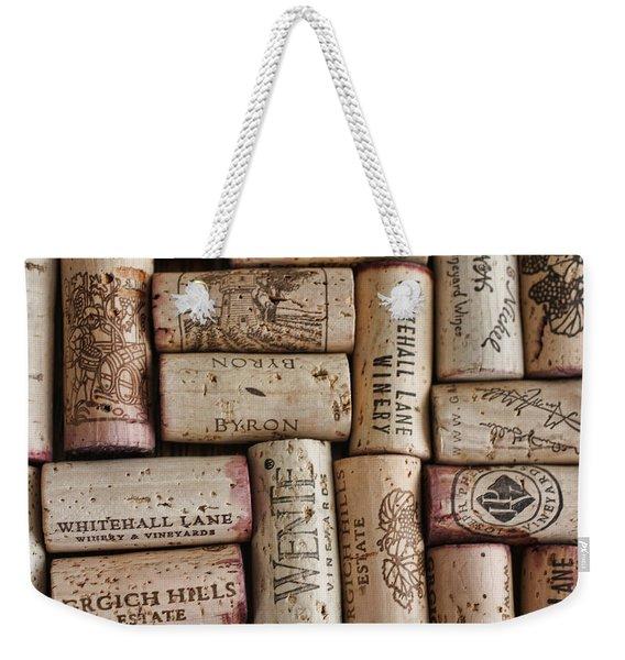 California Corks Weekender Tote Bag
