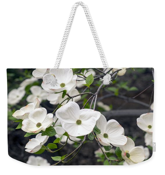 California Dogwood Weekender Tote Bag