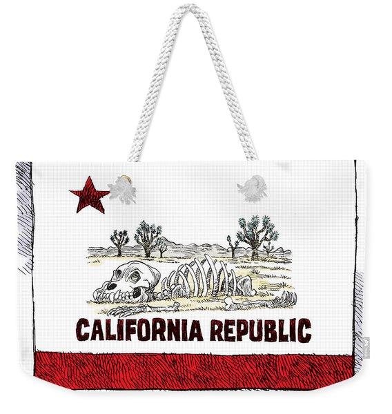 California Drought Weekender Tote Bag