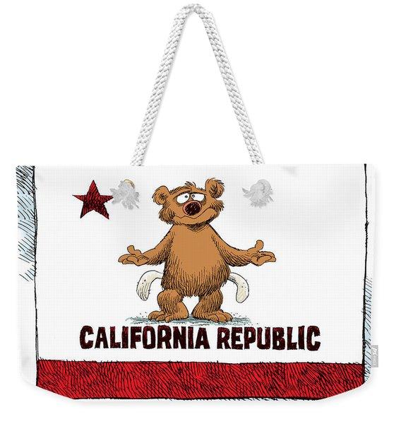California Empty Pockets Weekender Tote Bag