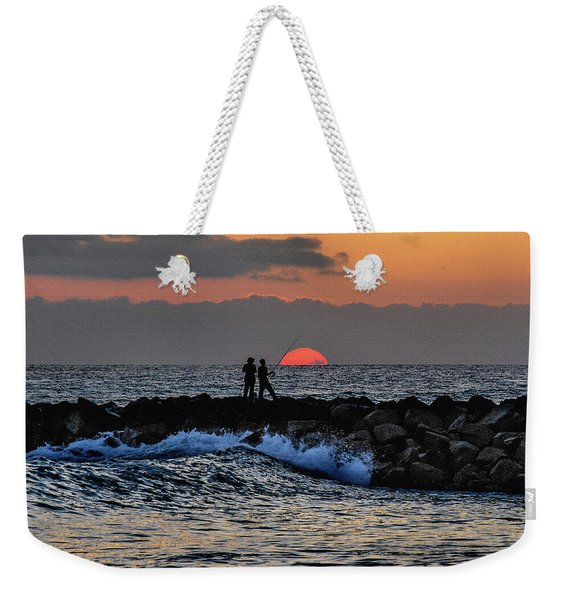 California Evening With Sandstone Effect Weekender Tote Bag