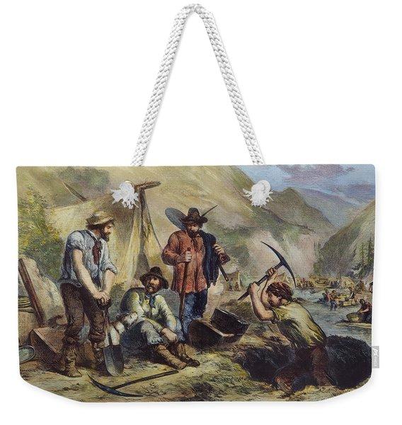 California Gold Diggers Weekender Tote Bag