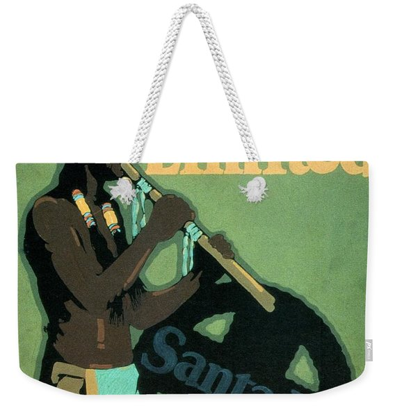 California Limited - Santa Fe - Retro Travel Poster - Vintage Poster Weekender Tote Bag