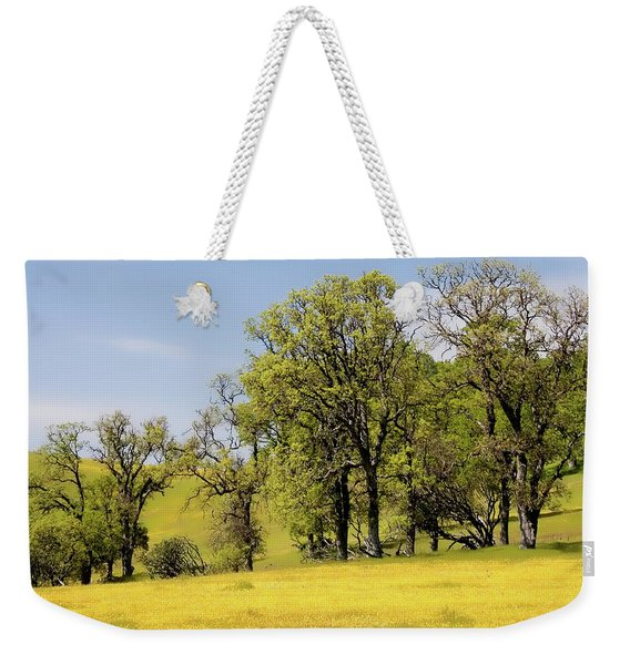 California Oaks And Wildflowers Weekender Tote Bag