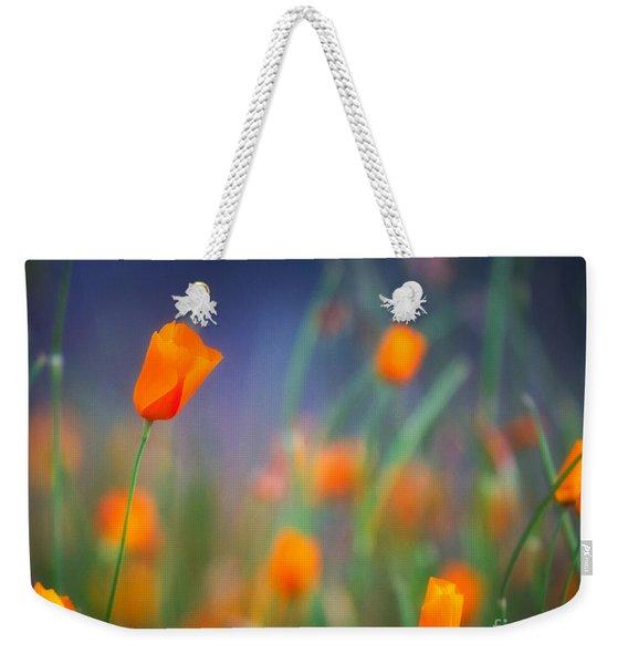 California Poppies 2 Weekender Tote Bag