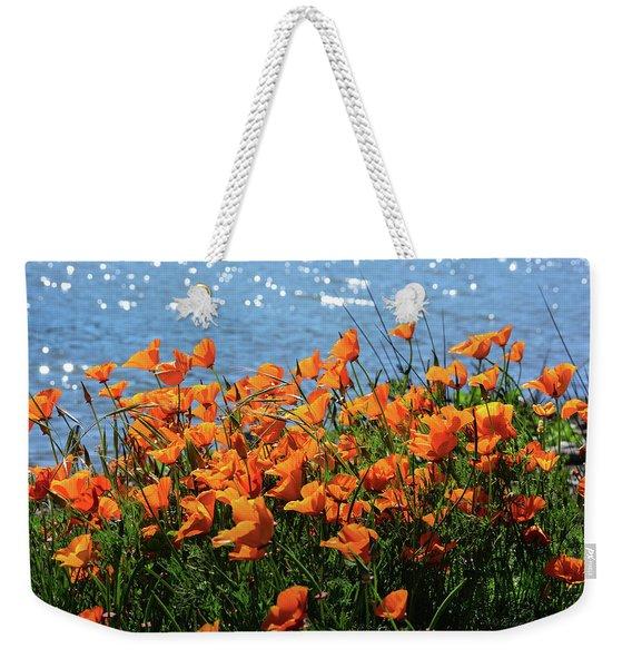 California Poppies By Richardson Bay Weekender Tote Bag